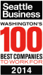 Seattle Business - Washingtons 100 Best Companies To Work For Award 2014
