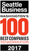 Seattle Business - Washingtons 100 Best Companies To Work For Award 2017