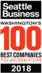 Seattle Business - Washingtons 100 Best Companies To Work For Award 2018